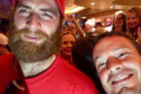 Caps gone wild: Follow team's wild Saturday celebrations
