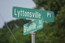 Lyttonsville is a small enclave nestled between downtown Silver Spring and Rock Creek. (WTOP/Dave Dildine)