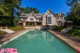 """The estate, named """"Ishpiming,"""" at 9 Chevy Chase Circle is one of the first homes built by the Chevy Chase Land Company, and was built in 1894. The 12,900-square-foot home sits on a 1.9-acre estate. (Courtesy Long & Foster)"""