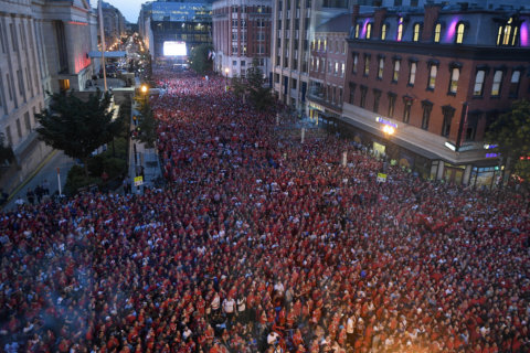 Caps victory parade, rally to be held June 12