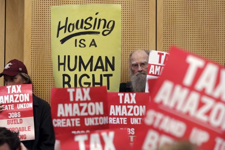Seattle tax opposed by Amazon will be likely be rescinded