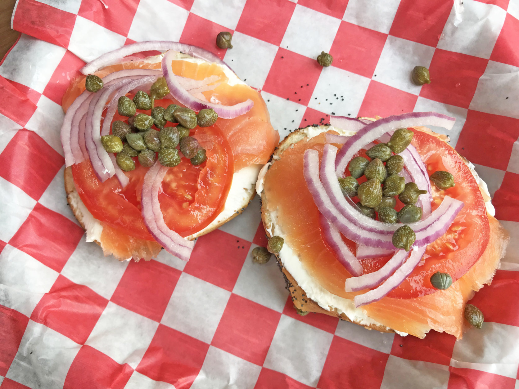 Bagel Uprising is a Del Ray, Virginia-based bagel shop from local and lawyer Chad Breckinridge. (WTOP/Rachel Nania)