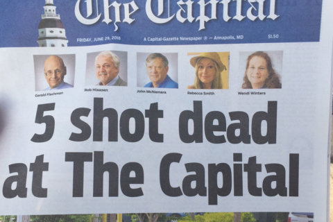 They put out the 'damn paper' — The Capital Gazette goes on