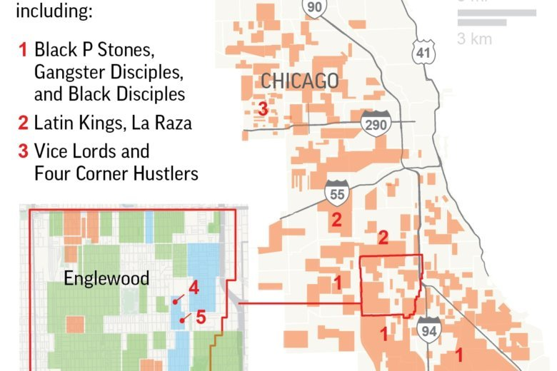 Suburban Chicago Map.A Look At Today S Chicago Gangs And How They Ve Changed Wtop