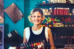 As new wave and punk grew in the early 1980s, Commander Salamander in Georgetown was a mecca for alternative clothes and looks. (Courtesy Dori Wagner Eldridge)