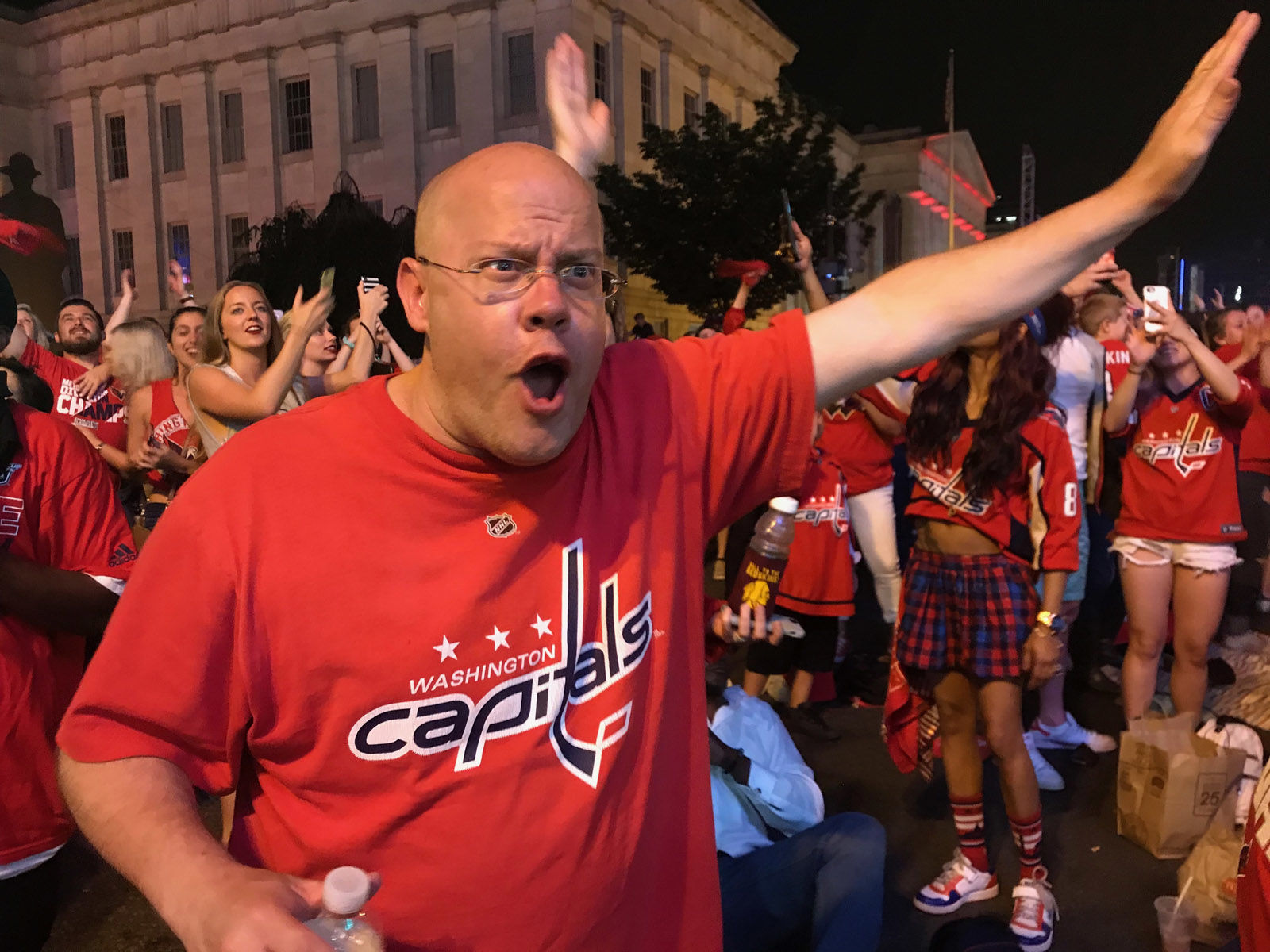The Capitals are now just two wins away from winning their very first Stanley Cup. (WTOP/Dick Uliano)