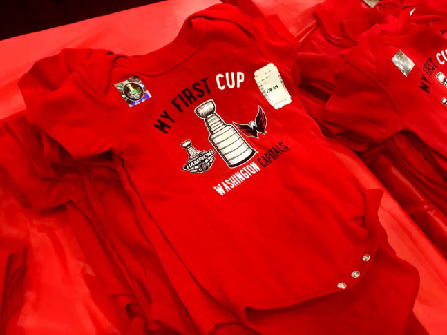Whoever winds up wearing this will not have waited as long for their first Stanley  Cup as most other Caps diehards. (WTOP Neal Augenstein) 09f6013f0