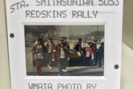 So when was the last time D.C. saw a parade like this? It was after the Redskins won the Super Bowl in 1992. WMATA shared these photos of Redskins fans heading to the victory rally on the National Mall. (Courtesy WMATA via Twitter)