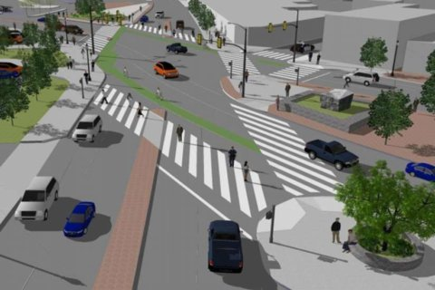 Overhaul of tricky 'Clarendon Circle' intersection could start this fall