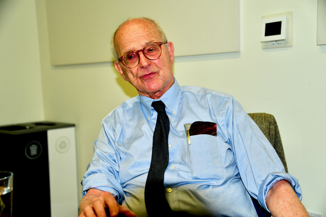 A one-on-one interview with Dr. Rainer Weiss, MIT (Courtesy Greg Redfern)