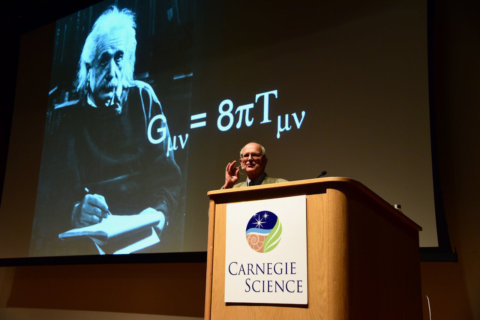 Gravitational waves ripple DC audience