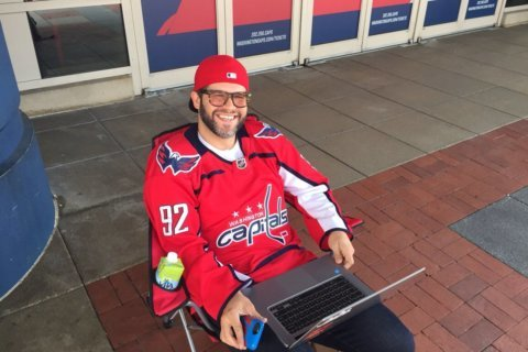 Superstitious Caps fans ready to tilt Game 5 in DC's favor