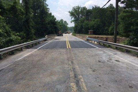 Md. 198 bridge reopens in Anne Arundel Co.