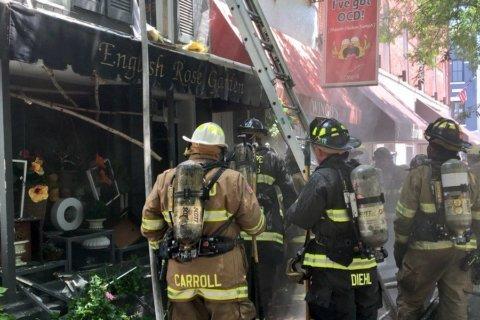 Accidental fire in restaurant's kitchen wrecks 2 Georgetown businesses