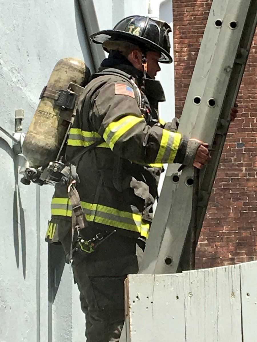 As of 12:30 p.m., DC Fire and EMS tweeted that the fire was mostly extinguished. (Courtesy DC Fire and EMS)
