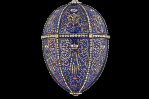 'Rediscover' famous Fabergé eggs, frames at Hillwood this summer