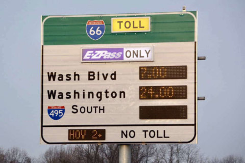 What effect do tolls have on I-66 after six months?