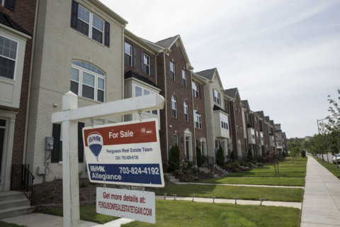 DC-area home prices hit 10-year high