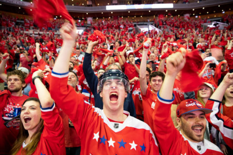 PHOTOS: Caps fans celebrate in epic fashion