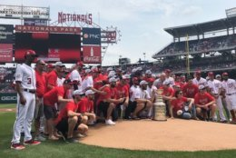 Capitals near Stanley Cup Nats Park