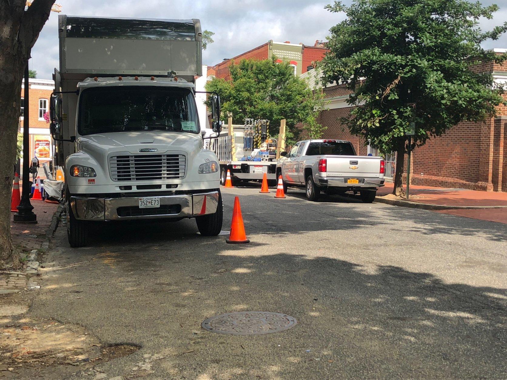 Movie shoot brings road closures to Georgetown | WTOP