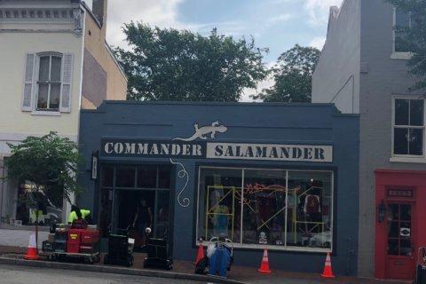 Movie shoot brings road closures to Georgetown