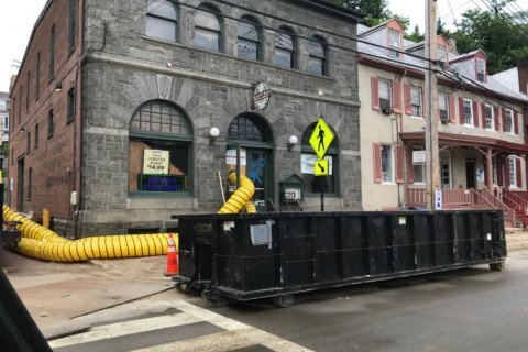 Mud, mud and more mud: Main Street cleanup grinds on in Ellicott City