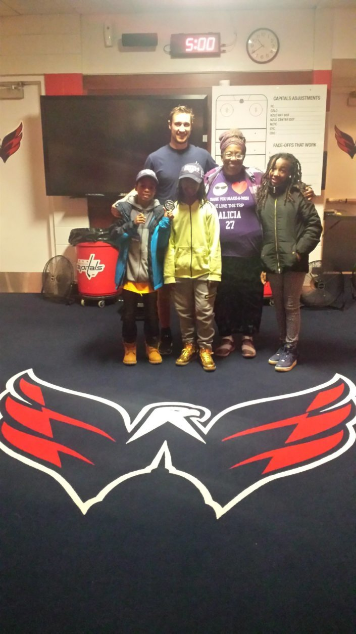 """A WTOP listener said, """"Can you say Stanley Cup? The Rucker Tobechi Family loves #83/ JayBeagle! ROCK THE RED!!! GO CAPS!"""" (Courtesy WTOP Listener)"""