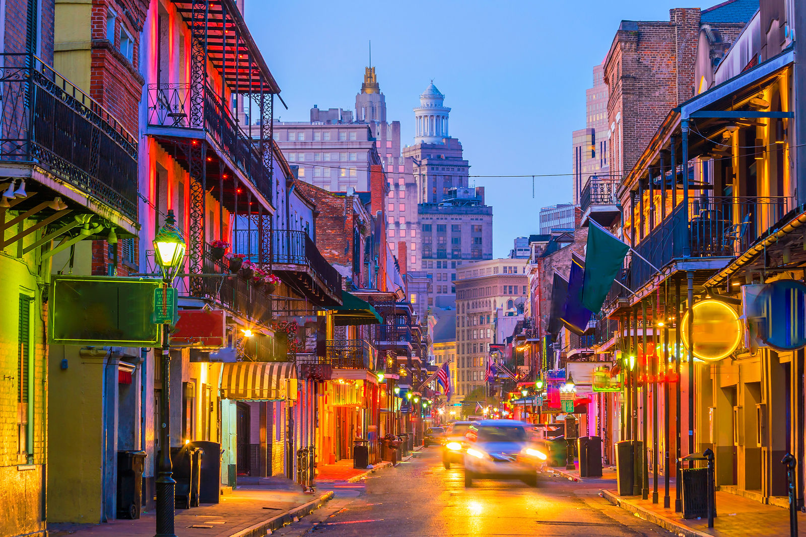 New Orleans comes in at No. 9. The city, known for its French and Spanish Creole heritage, recently celebrated its 300th birthday with a visit from the King and Queen of Spain. (Getty Images/Thinkstock)