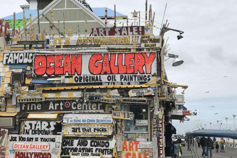 The boardwalk at Ocean City. (WTOP/Megan Cloherty)
