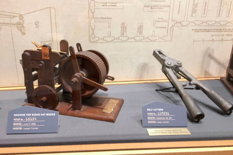 Alexandria museums get involved in PTO's 10-millionth patent