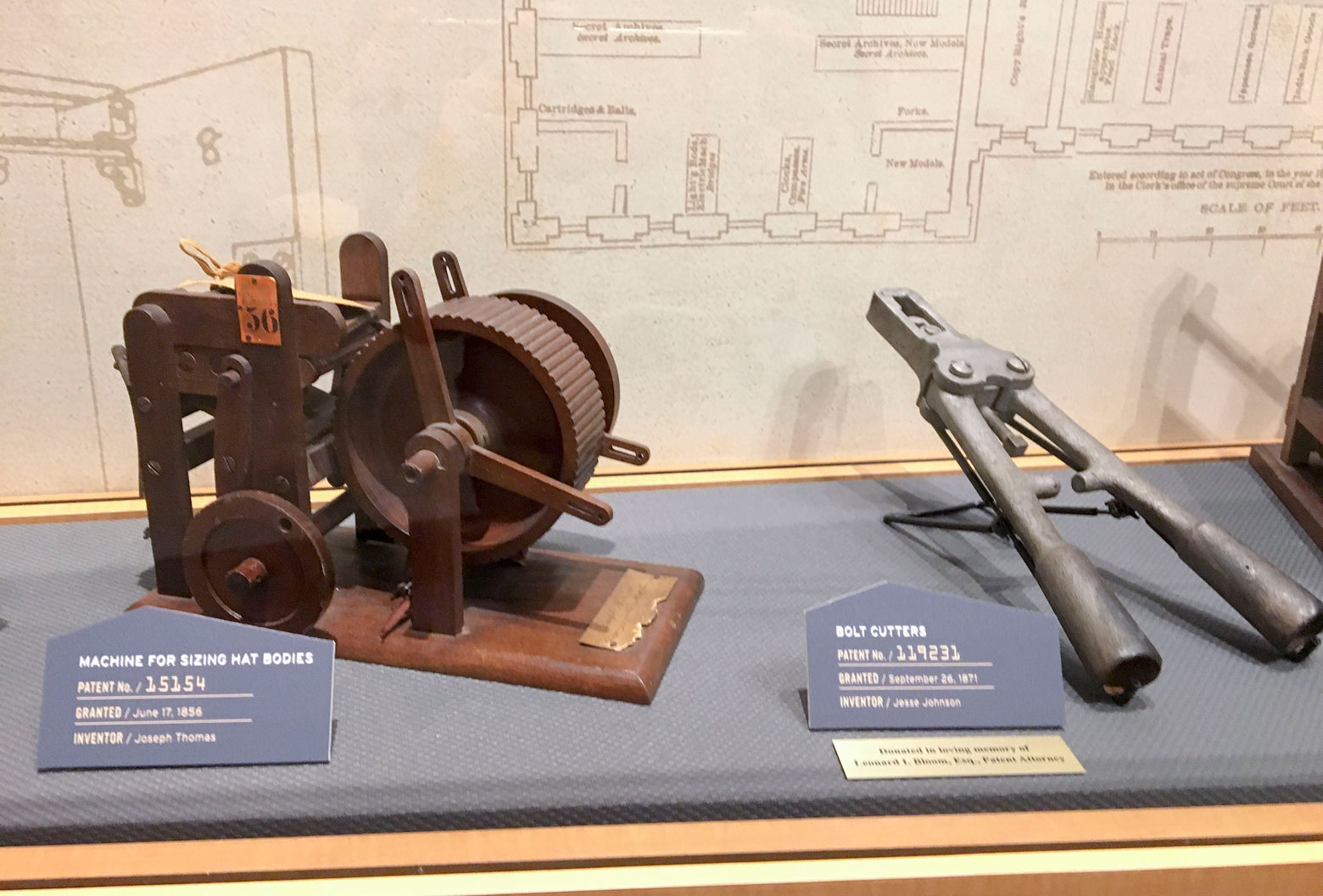 Nine museums in Alexandria will display inventions submitted for patents by early inventors. (Courtesy National Inventors Hall of Fame Museum)