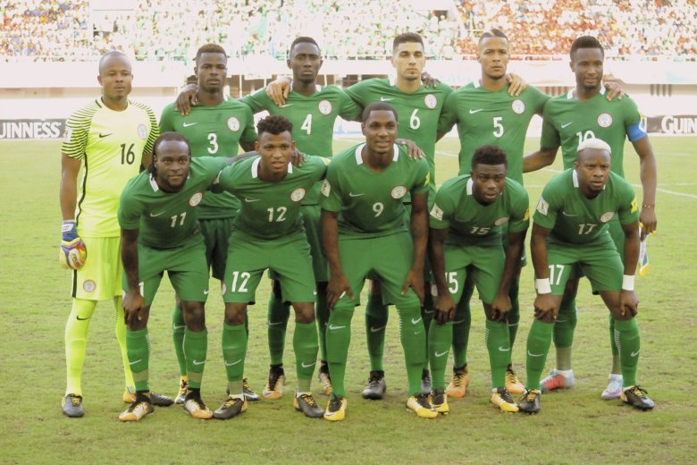 WORLD CUP  Nigeria strong and calm under Rohr 345b36827