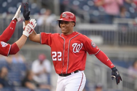 Juan Soto home run cannot be held by ballpark, time