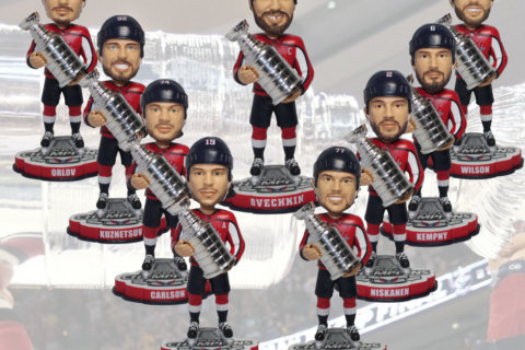 More players added to Capitals' Stanley Cup champion bobblehead lineup