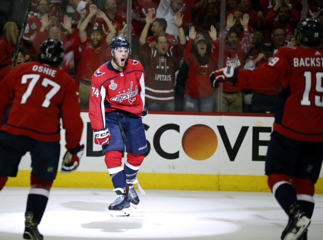 Capitals on verge of Cup after blowing out Golden Knights  7d1003b6783