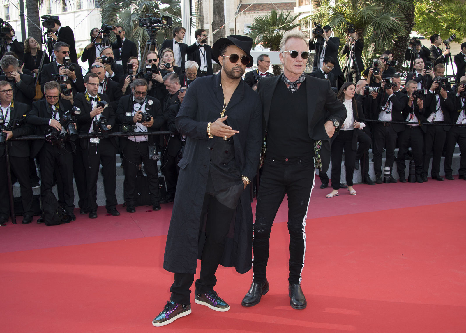 Sting and Shaggy will hold a free concert in front of the National Portrait Gallery ahead Game 3 of the Stanely Cup Final on Saturday. So, who needs Imagine Dragons?  (Photo by Arthur Mola/Invision/AP)