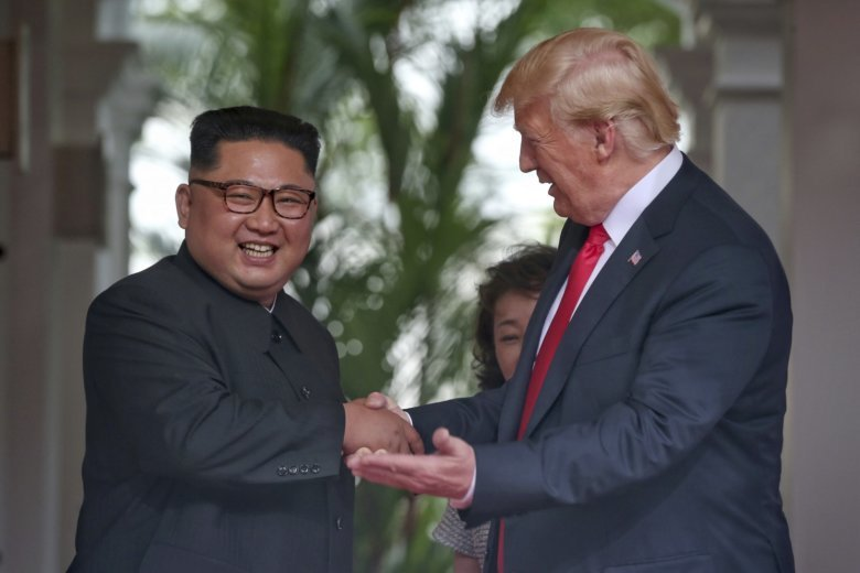 Donald Trump: 'Sleep well tonight' after North Korea summit