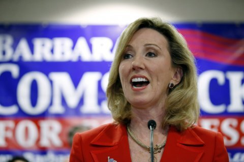 Comstock wins GOP primary in Virginia's 10th