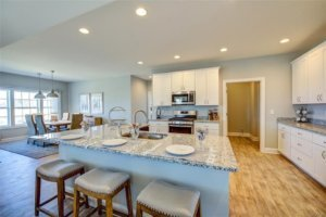 Kitchen of a home for sale in Milton, Delaware