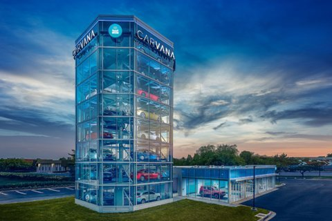 Gigantic vending machine for cars just opened in Gaithersburg