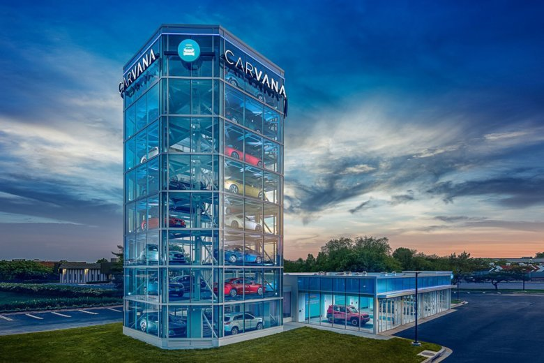 Truecar Used Cars >> Gigantic vending machine for cars just opened in Gaithersburg | WTOP