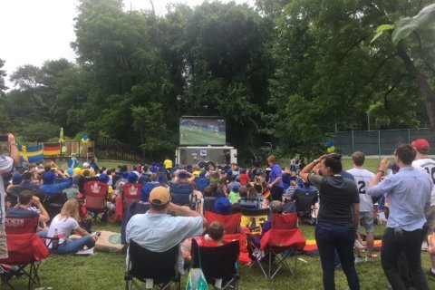 A day with the World Cup in DC