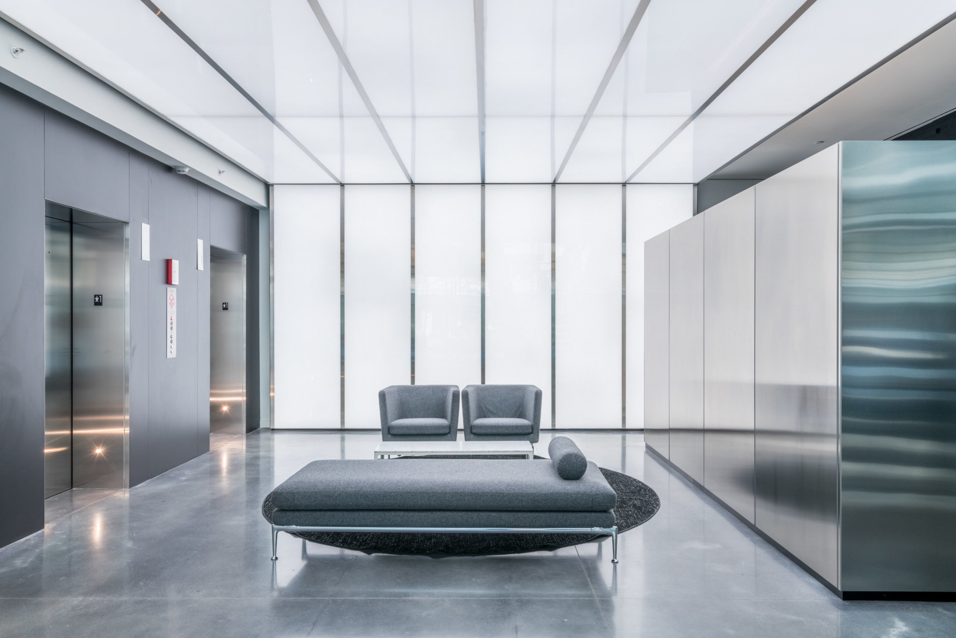 Rents range from $2,750 a month for a 562-square-foot studio to $13,260 a month for a 2,400-square-foot, three-bedroom corner residence with views of the Circle and the District skyline. (Courtesy Eastbanc)