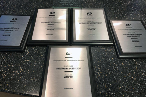 Chesapeake AP honors WTOP with multiple journalism awards