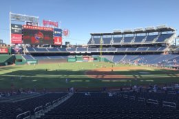 The weather is ripe for a Congressional Baseball Game on Thursday, June 14, 2018. (WTOP/Michelle Basch)