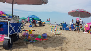 Ocean City beach chair
