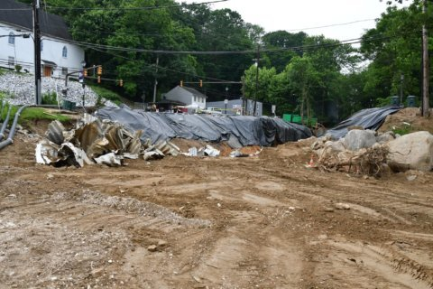'Several months' until washed-out road into Ellicott City reopens