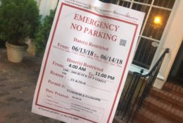 A movie filming in Georgetown will cause road closures on Wednesday and Thursday. (Courtesy ABC7/John Gonzalez)