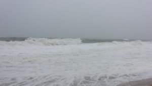 heavy surf in ocean city